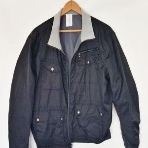 Banana Republic Reversible windbreaker jacket L